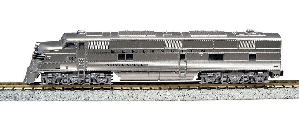 Escala N - Kato Locomotora Diésel EMD E5A Plata Speed 176-5401 Neu