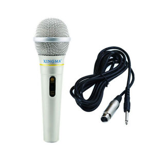 Dynamic-Microphone-Professional-Wired-Handheld-Karaoke-Studio-For-Sing-Party-G9A
