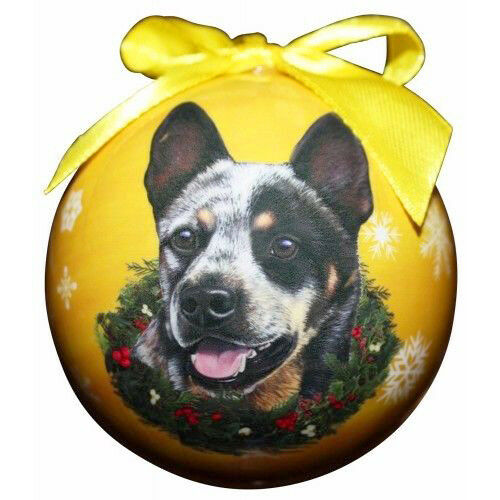 Australian Cattle Dog Christmas Ball Ornaments Tree ...