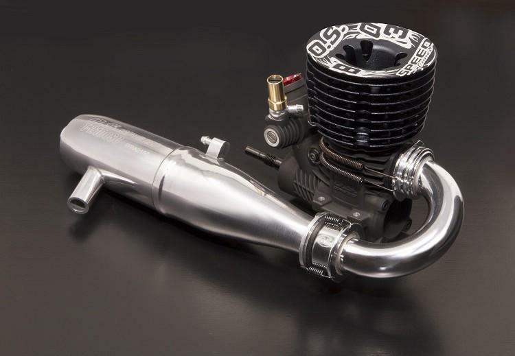 OS Speed B2103 Type-R w  T-2100SC Pipe Combo 1  8 Off strada Engine   1BP01  i nuovi stili più caldi