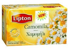 LIPTON  NAURAL PURE CHAMOMILE  HERBAL TEA  [Anxiety, Stomach, Colicky Babies]