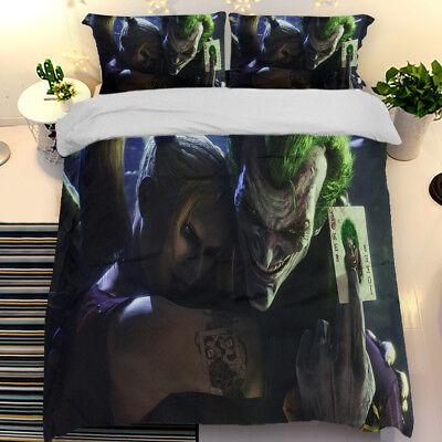 Megamind Harley Quinn Joker Duvet Cover, Batman Joker Bedding