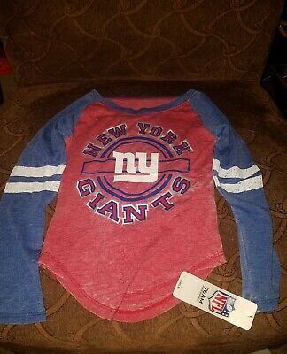New York Giants Thermal Shirt Youth Boys Youth Size Small NWT  #19