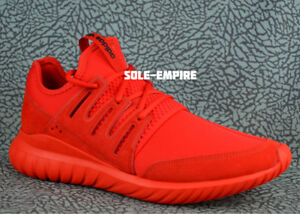 7f30e2b8ed2 Adidas Tubular Radial S80116 Red Men s NEW IN BOX Size 10.5 SALE