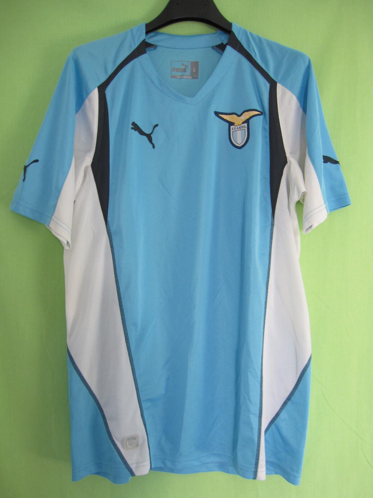 Maillot Lazio SS Lazio Maillot Puma vintage Football Soccer Shirt Entrainement Jersey - L b3f5e2