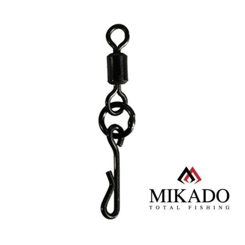 10 Mikado Carp Vortex Carp Swivel with Quick Change System #8 0,50 EUR//ST.