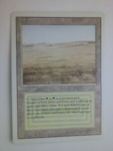 MTG Magic the Gathering English Savannah 1994 Revised 3rd Edition Dual Land LP