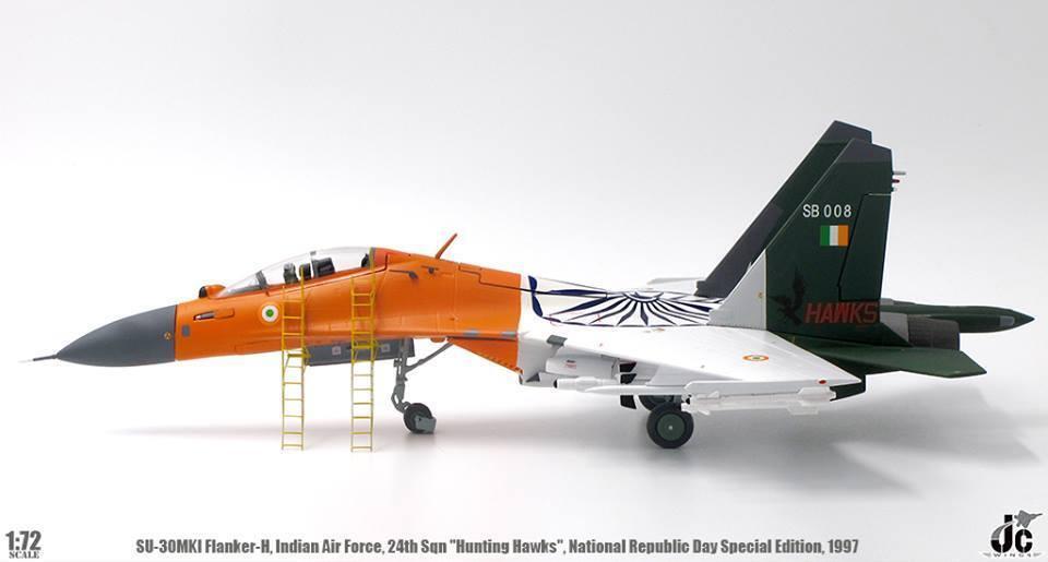 Jcw72su30005 1 1 1 72 Su-30mki Flanker Indien Af National Republic Jour Spécial bcd755