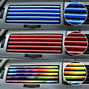 10-set-Car-Accessories-Air-Conditioner-Air-Outlet-Decoration-Strip-6-Colors