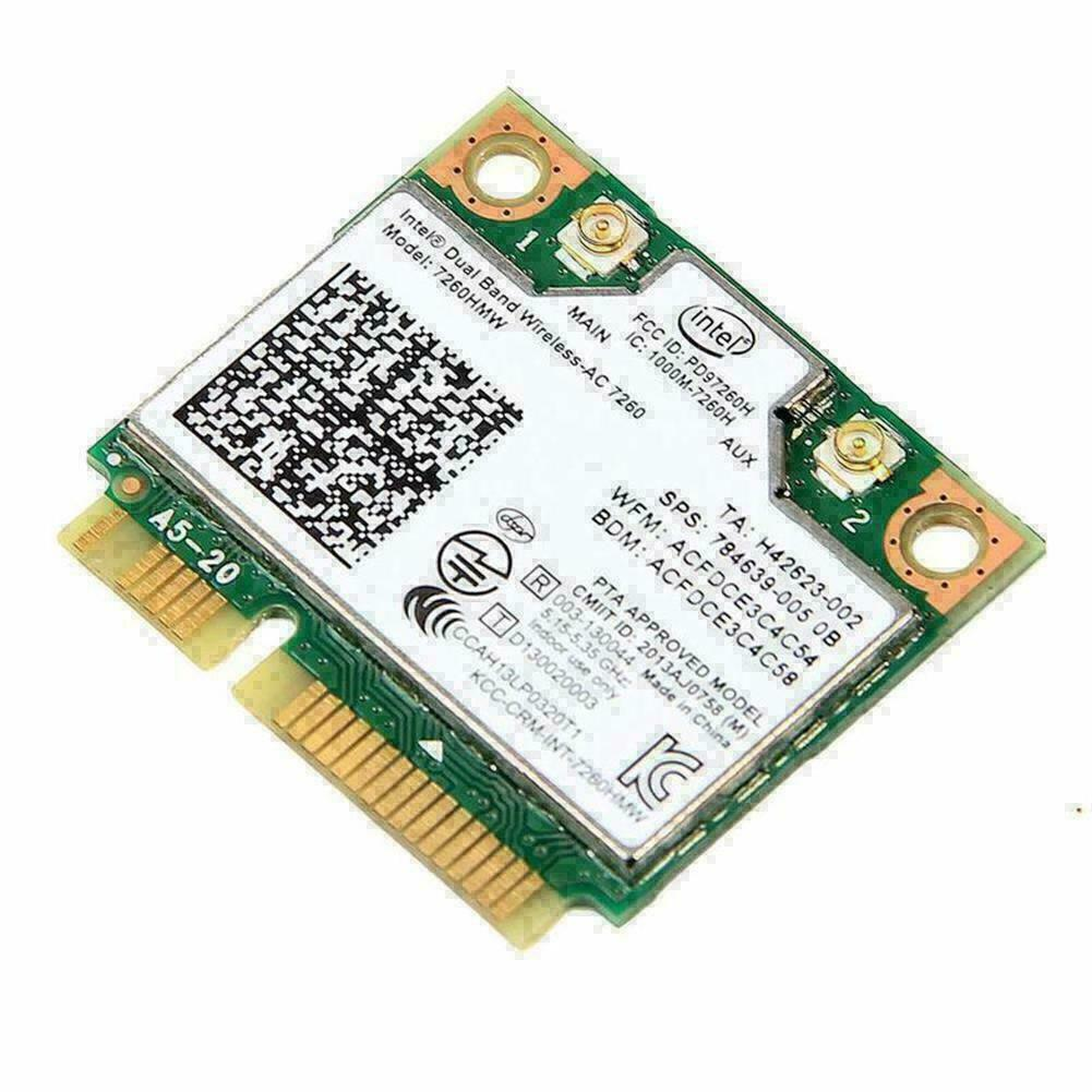 Intel 7260hmw 7260ac dual band 5g wireless network card 876m Bluetooth 4.0mini A