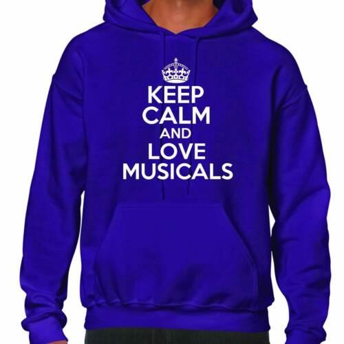 Keep Calm And Love Musicals Hoodie