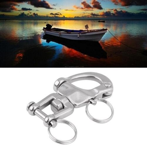 Für Segelboot Halyard Drehbar Kette Marine Yacht 7cm Ersatzteile