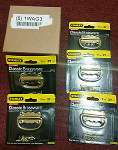 5 Pack Stanley Chest-Dressers-Cabinets Handle Steel Brand Brassware (5)1WAG3