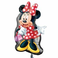 "Disney Minnie Mouse - Large 32"" Super Shape Foil Helium Balloon Birthday Party"
