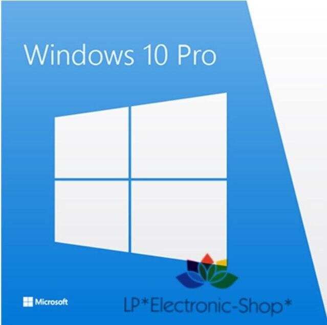 MICROSOFT WINDOWS 10 PROFESSIONAL 32/64 BI  | DOWNLOAD | ORIGINALE | FATTURA |