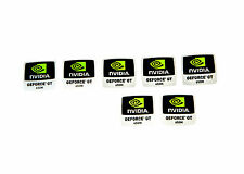 NVIDIA GeForce GT 650m sticker 7x pieza/PCs pegatina/Label | nuevo logotipo New