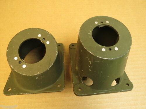 T-6 SNJ Aircraft Fuel Selector Dial Supports Set NOS