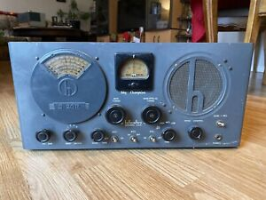 Hallicrafters-S-20R-Sky-Champiom-Ham-Receiver-For-Parts-Restoration