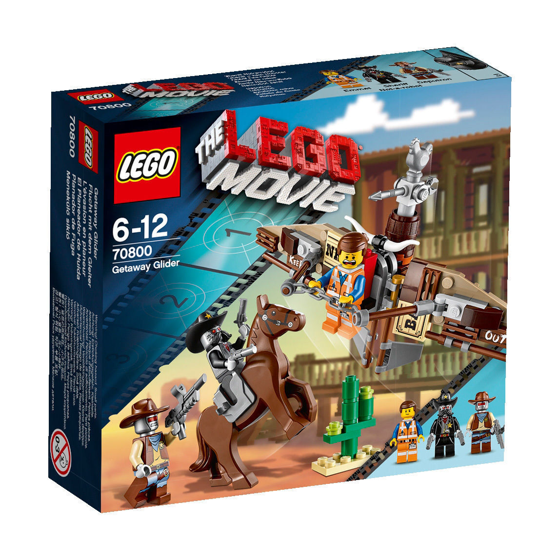 LEGO® 70800 THE MOVIE Flucht mit dem Gleiter Neu OVP New Original
