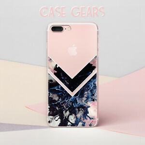 Details about Chevron iPhone 6 Case Marble iPhone 7 Plus Case Geometry TPU  Phone Cover Skin