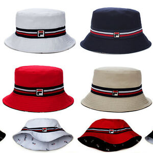 d0bbfb67fabad Image is loading new-FILA-Vintage-90s-BUCKET-HAT-LA141GS7-100-