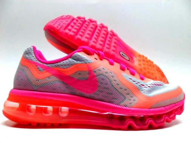 quality design fe561 0dbca Nike Air Max 2014 Platinum pink mango GS Grade School Size 6y or 7.5 Womens