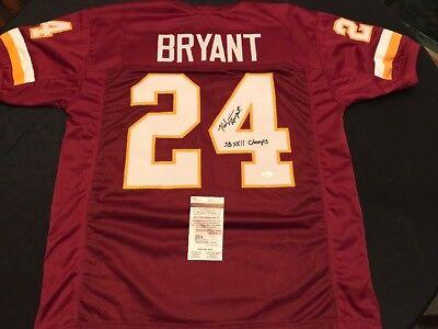 new products 309a8 d0e87 Kelvin Bryant Signed Washington Redskins Custom Jersey JSA ...