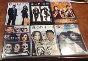 Bones Complete Season 1 2 3 4 5 6 DVD Boxset Lot Deschanel Boreanaz