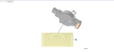 BMW Genuine Rain Light Driving Sensor Silicon Resin Pad Replacement 61359856157
