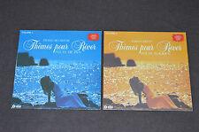 THEMES POUR REVER VOLUME 1 & 2 LP LOT VINYL ALBUMS COLLECTION Flute de Pan