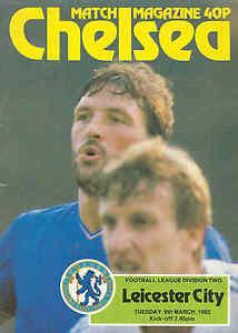 Football-Programme-Chelsea-v-Leicester-City-Div-2-9-3-1982