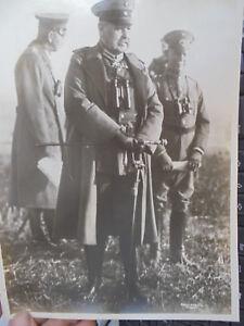 29614 Geneal Paul Von Hindenburg Echt Foto Edgar Schleißing Stuttgart 26x19cm