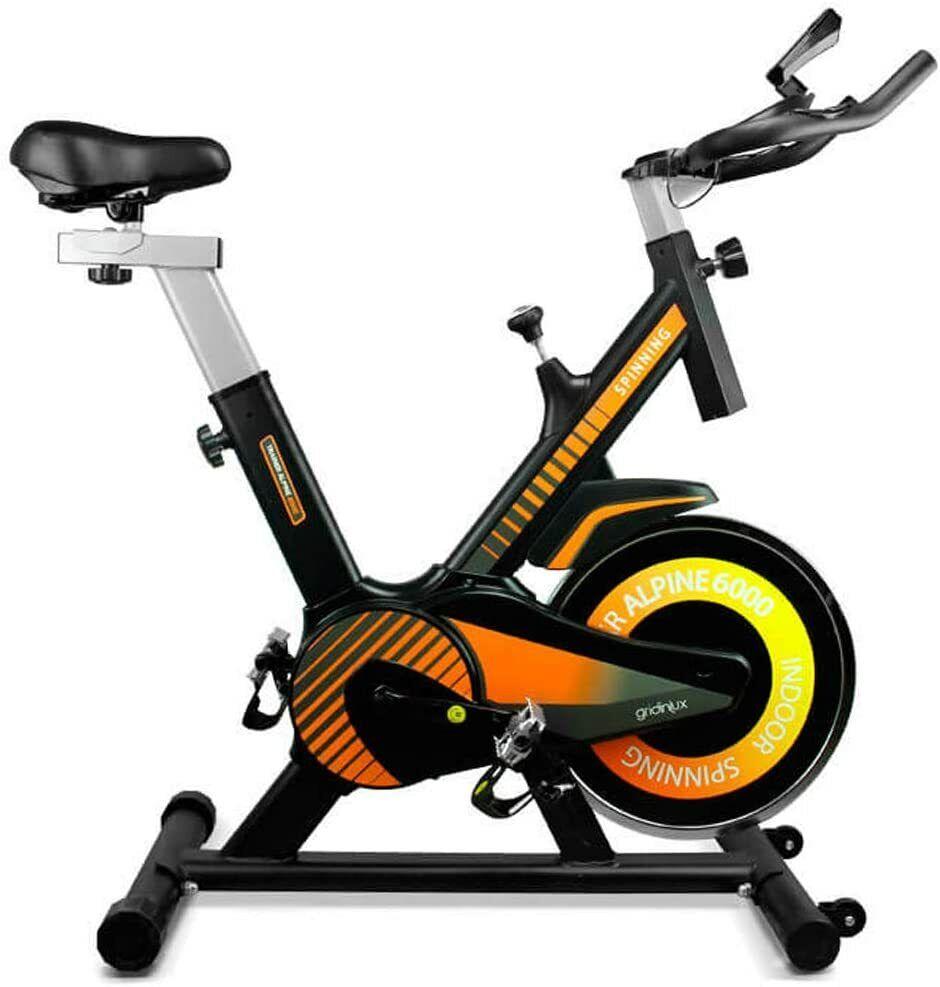 Bicicleta Spinning Pro Indoor. Volante de Inercia 10 kg, Nivel Avanzado, Sistema