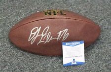 22605 DJ Fluker Signed Full Size Football AUTO Deflated BGS Beckett BAS COA