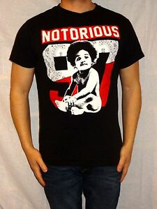 Notorious-97-100-Black-Cotton-Short-Sleeve-Cotton-Tee-Size-Men-039-s-S
