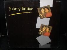 LP JUAN y JUNIOR s/t SPAIN 1985 los BRINCOS VINYL VINILO
