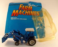 ERTL -Replica Farm Machines -Ford 8730 Tractor with endloader-en boîte n°303