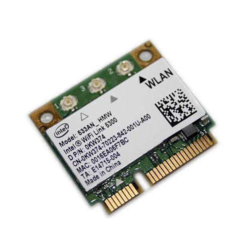 Dell Intel WiFi Link 5300 DUAL BAND 802.11 abgn MINI CARD 533an/_hmw