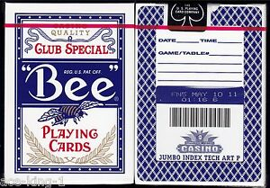 1-new-decks-BEE-BRAND-COMANCHE-NATION-CASINO-playing-cards