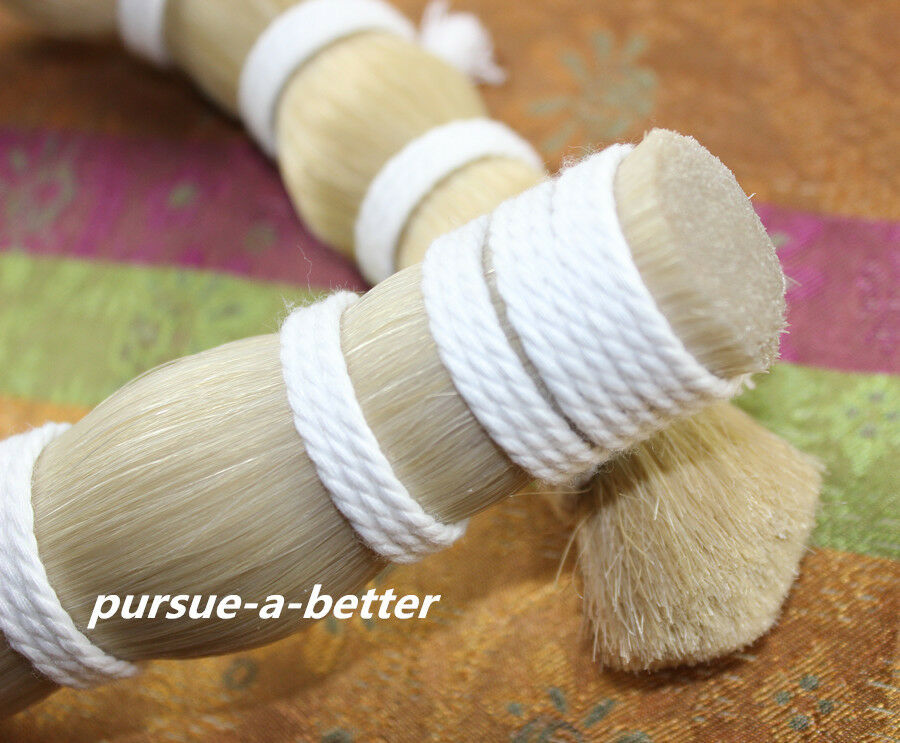 500 g Mongolian White Horse Tail Hair in bulk Violin Bow hair 80-85cm