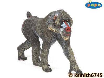 NEW * Papo  GORILLA plastic toy wild zoo animal monkey ape