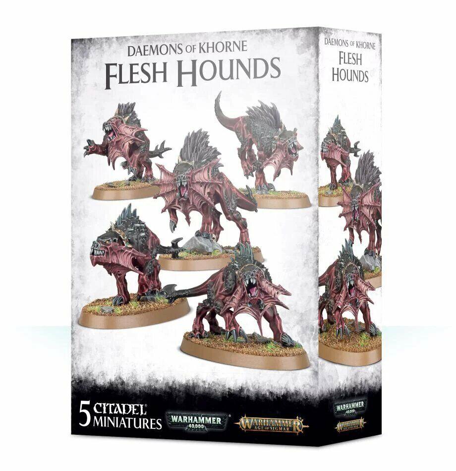Warhammer Daemons of Khorne Flesh Hounds Pre Order