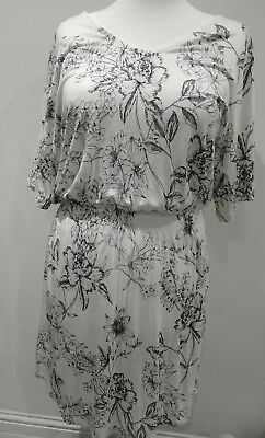 Size XL 16-18 H/&M Black Soft Dress// Cover Up Lovely!