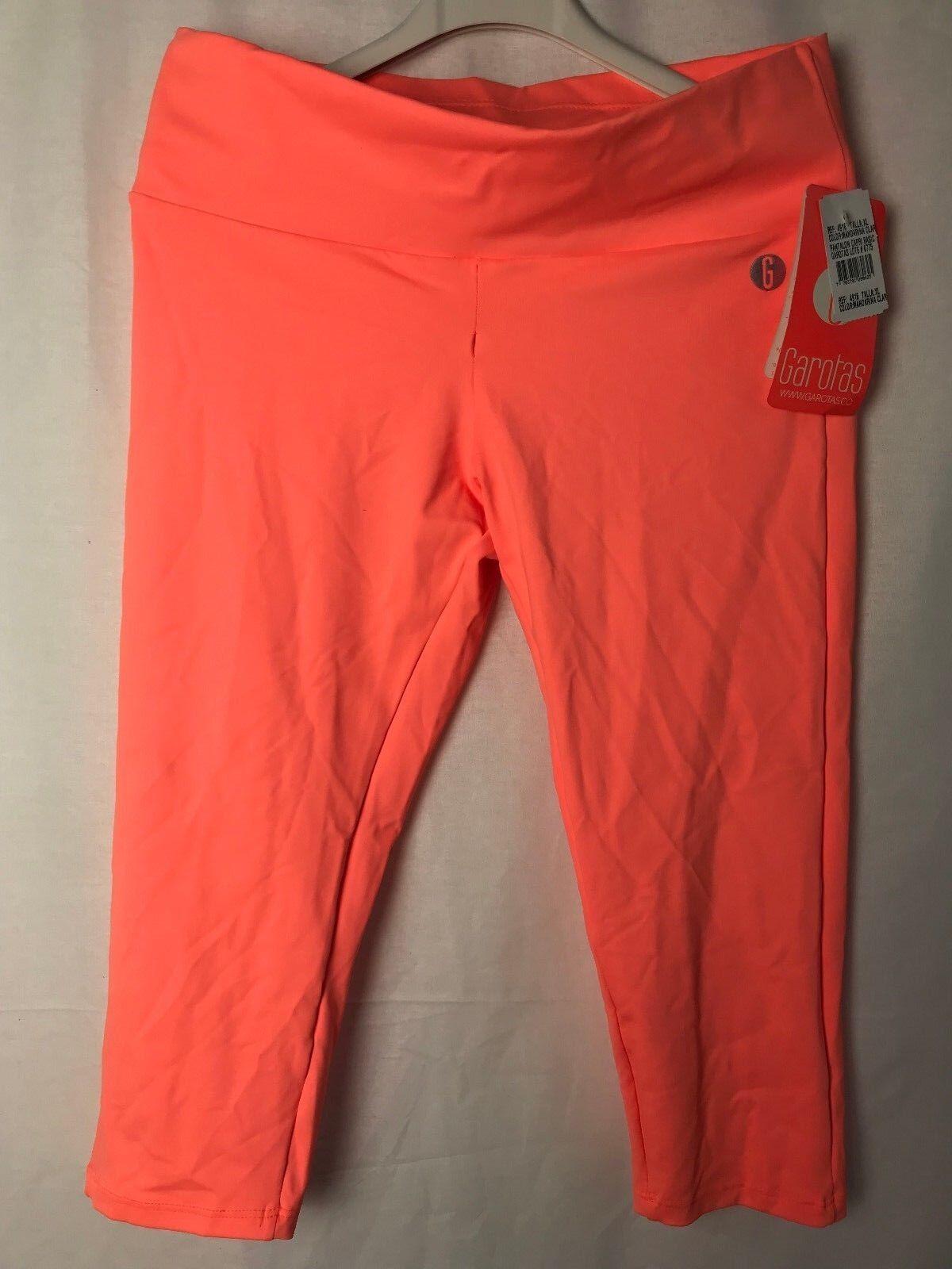 Garotas SEÑORA LEGGINS LEGGINS LEGGINS pantalón naranja talla XL fc354f