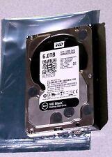 """6TB WD Western Digital Black Internal 3.5"""" 7200RPM Hard Drive SATA-3"""