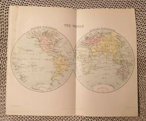 Map-The-World-1924-Book-Page