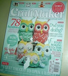 Britain S No 1 Craftmaker Magazine Oct 2014 Craftseller Sell Your Handmade Craft Ebay