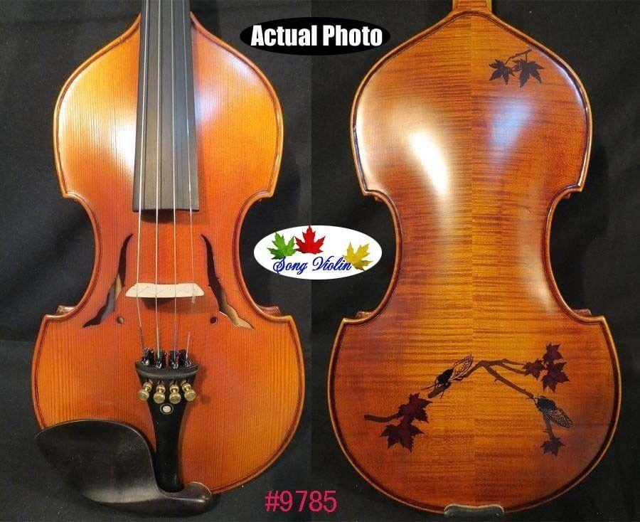Canción de estilo barroco Master 4 4 Violín Violín Violín Arce de vuelta con incrustaciones de de palo de rosadodo  9785  mas barato