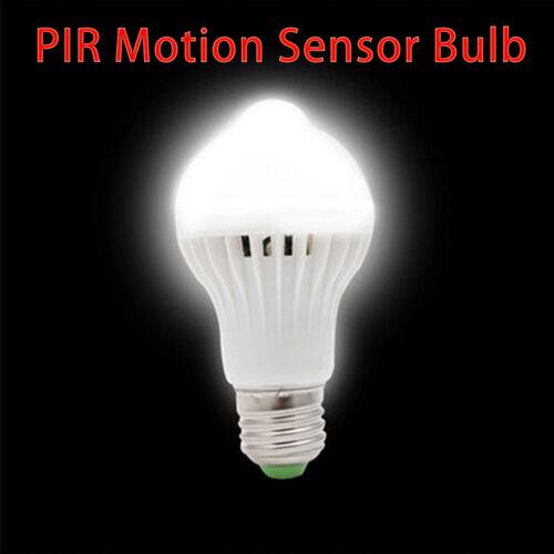 5W//7W//9W LED Auto PIR Motion Sensor Bulb Energy Light Bulb Infrared Saving Lamp
