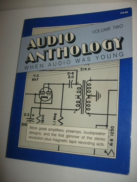Vintage 1989 Audio Anthology Vol. 2 When Audio Was Young Paperback FREE US Ship